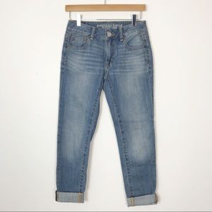 AMERICAN EAGLE Boy Jean Boyfriend Fit Size 00